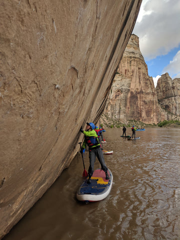 hala gear yampa canyon sup whitewater river