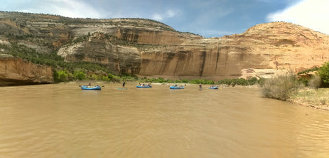 hala gear sup yampa whitewater
