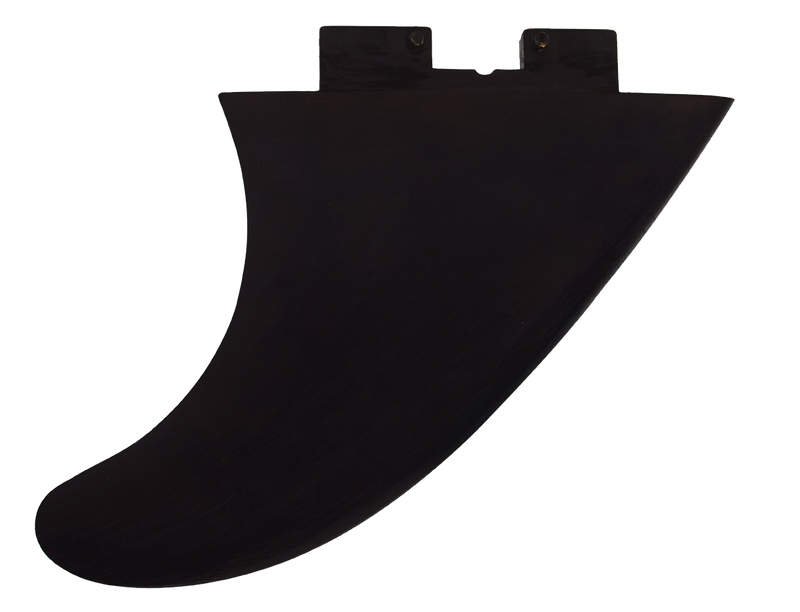 4.5″ Hard Side-Bite Click Fins Black