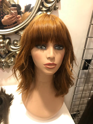 "16"" Straight Red Pre-loved Wig 2866 / R1183"