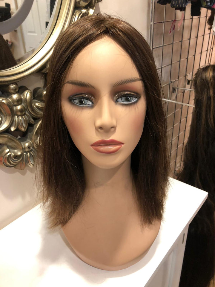 "17"" Straight Brunette Preloved Fortune Topper 2645 / WT1124"