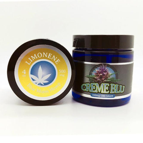 500mg Limonene CBD Salve 4oz Jar - Blue Moon Hemp