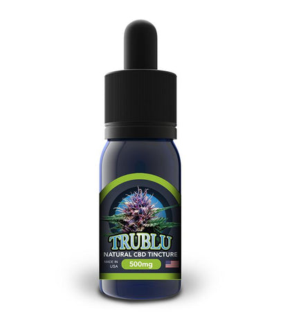 500mg TruBlu Natural CBD Tincture 30ml - Blue Moon Hemp