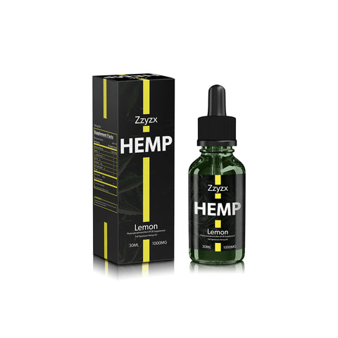 1000mg Lemon CBD Tincture 30ml - ZZyzx Hemp