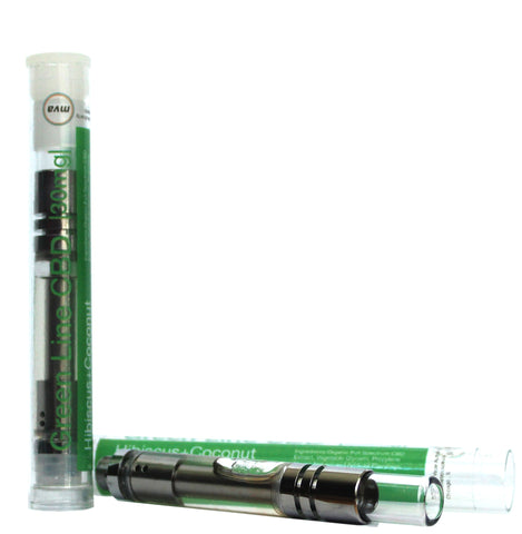30mg Hibiscus Coconut CBD Cartridge 1ml - Green Line CBD