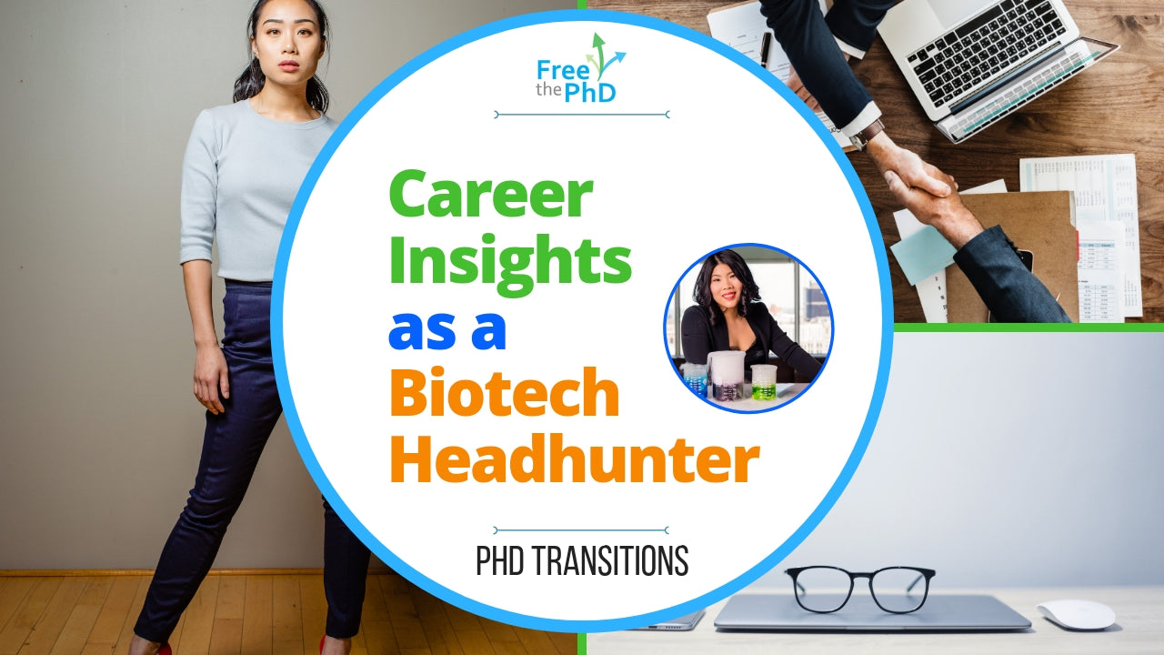 Free the PhD Collaboration Podcast#2: Career Insights as a biotech headhunter