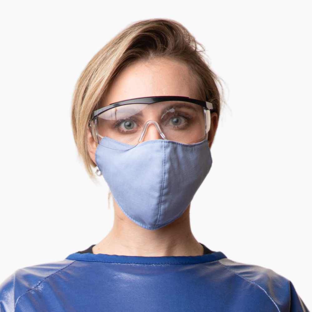 The Elizabeth Blackwell Antimicrobial Face Mask