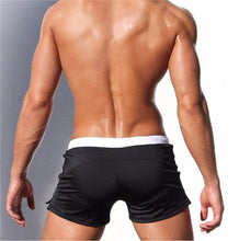 Load image into Gallery viewer, Mens Malibu Drawstring Square Trunk Swimsuit