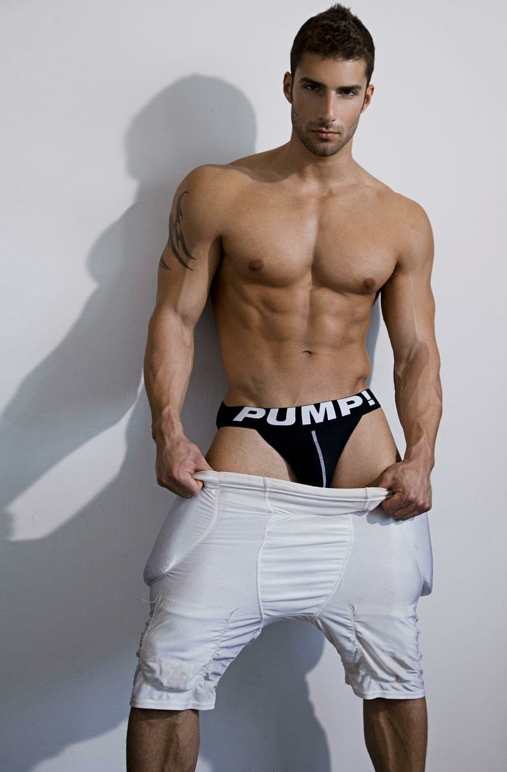 Mens PUMP! Underwear Black Party Jock