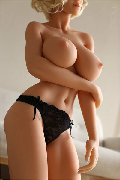 Blonde sex doll corps mature