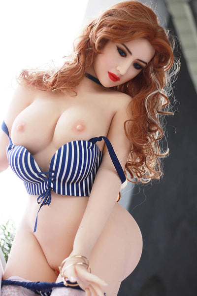 SEXY SEX DOLL ROUSSE SCARLETT