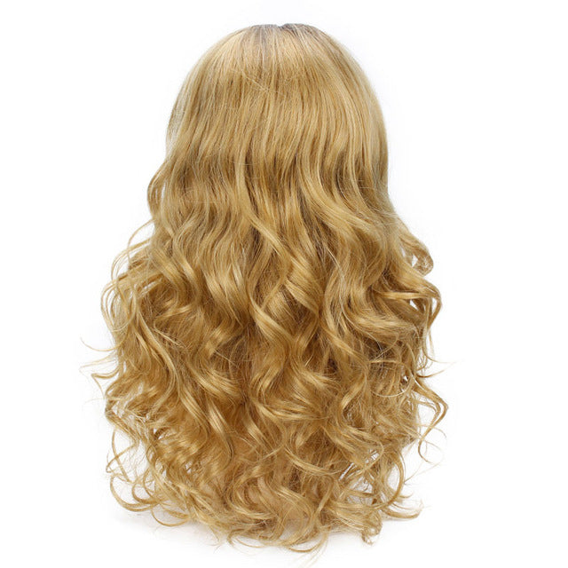 Perruque Style Occidental pour poupée gonflable - Cheveux Blond Long