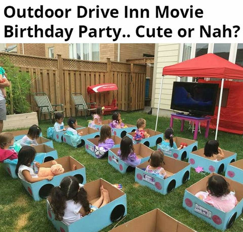 kids outdoor party idea