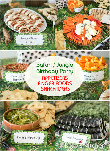 The BEST Kids Jungle Themed Birthday Party Ideas