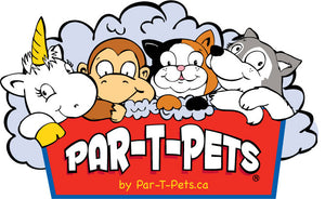 Par-T-Pets logo for kids crafts