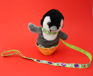 craft instructions for plush pets leashes free
