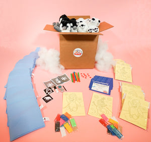 Indoor party pack for kids