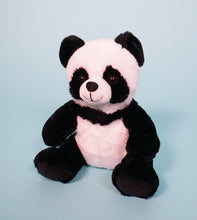 Load image into Gallery viewer, panda bear plush teddy front