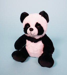 panda bear plush teddy front