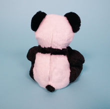 Load image into Gallery viewer, panda bear plush teddy back