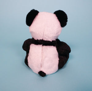 panda bear plush teddy back