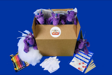 Load image into Gallery viewer, Dragon Plush Teddy Making Kit