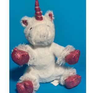 White Unicorn Plush Teddy Making Kit