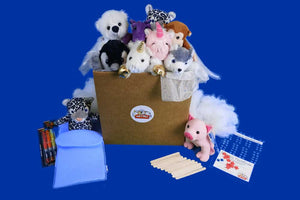 SLUMBER PARTY THEME TEDDY MAKING KIT