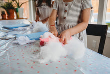 Load image into Gallery viewer, Kids at plush teddy making party