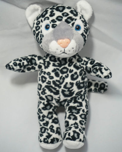 SNOW LEOPARD PLUSH STUFFING MAKING KIT