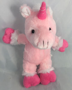 PINK UNICORN TEDDY MAKING KIT ABOVE