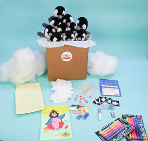 PENGUIN PARTY THEME PARTY KITS