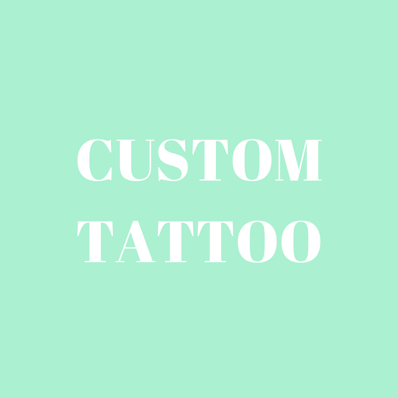 PAR-T-GLITTER TATTOO: CUSTOM