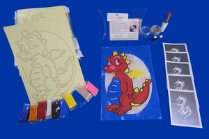 DRAGON CRAFT KIT FOR KIDS
