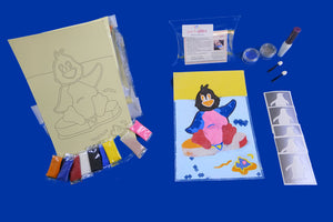 SAND ART PENGUIN CRAFT KIT