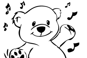 Polar Bear FREE Coloring Sheet Printable
