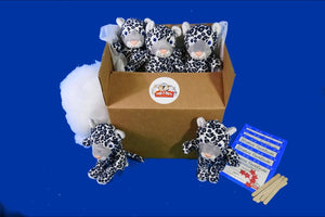 Snow Leopard Cat Teddy Making Kit