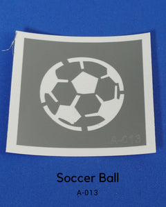 PAR-T-GLITTER TATTOO: SOCCER BALL
