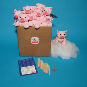 FLYING PIG PLUSH PET MAKING KIT FARM ANIMALS OR MYSTICAL CREATURE THEME