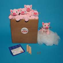 Load image into Gallery viewer, FLYING PIG PLUSH TEDDY MAKING KIT