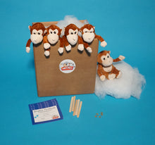 Load image into Gallery viewer, Monkey Plush Teddy Making Kit  5 pack