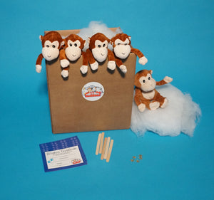 Monkey Plush Teddy Making Kit  5 pack