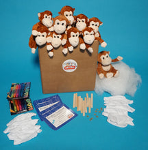 Load image into Gallery viewer, Monkey Plush Teddy Making Kit With T Shirt Accessory
