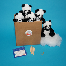 Load image into Gallery viewer, Panda Bear Teddy Making Kit.
