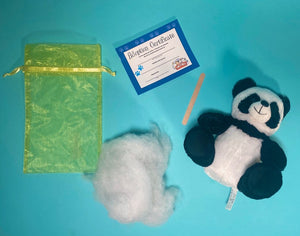 kits for panda social distancing or virtual party