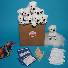 Load image into Gallery viewer, Polar Bear Making Kit with t shirt 10 pack