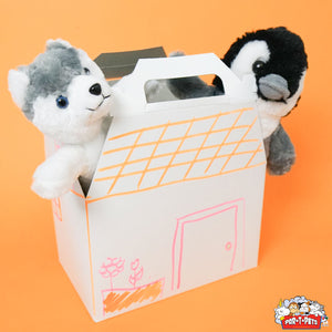 PET CARRIER ACCESSORY DECORATED FOR TEDDY MAKING de