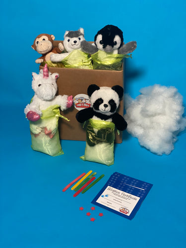 SOCIAL DISTANCING CRAFT OR PARTY TEDDY STUFFING CRAFT