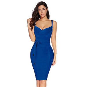 The ALICE Dress - Blue - DOYIN LONDON