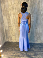 Charger l'image dans la galerie, The LAUREN Dress - Blue - DOYIN LONDON